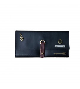 Buy Black Unisex Clutch Bag Online at ILoveFashion