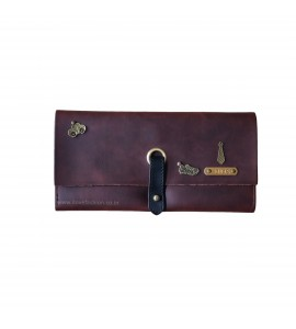 Buy Dark Brown Unisex Clutch Bag Online at ILoveFashion