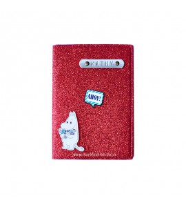 Buy Glitter Red Passport cover (Peppy) Online at ILoveFashion