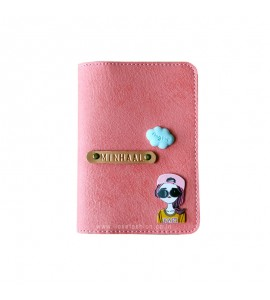 Buy Peach Pink Passport cover (Peppy) Online at ILoveFashion