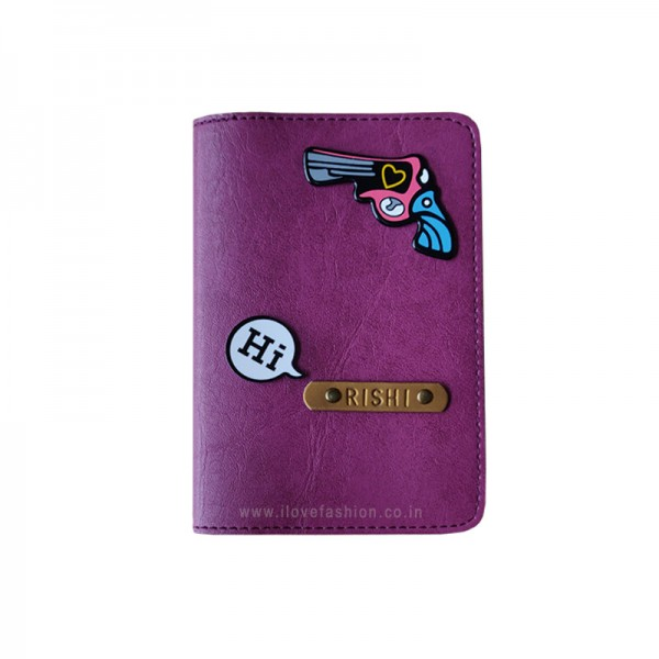 Purple Passport cover (Peppy)