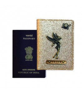 Buy Glitter Rose Gold Passport Cover (Vintage) Online at ILoveFashion