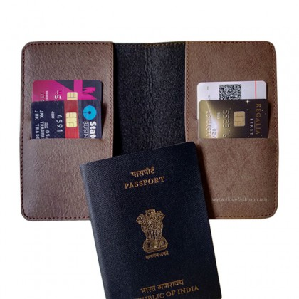 Oak Grey Passport Cover (Vintage)
