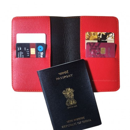 Red Passport cover (Peppy)