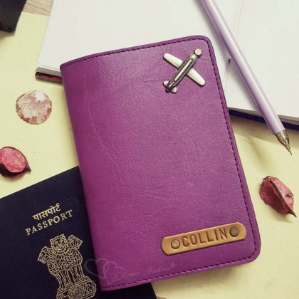 Purple Passport Cover (Vintage)