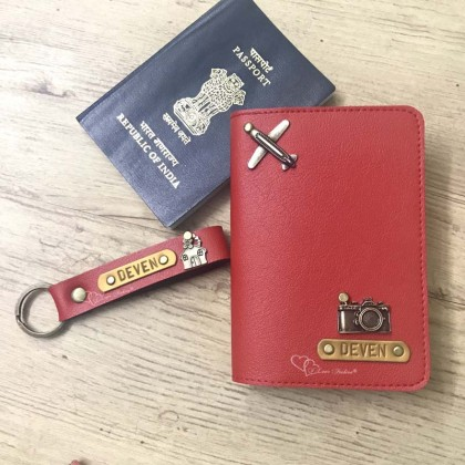 Red Passport Cover (Vintage)