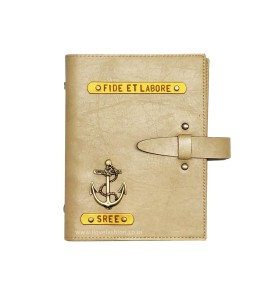 Buy Beige Personalised Diary Online at ILoveFashion