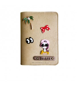 Buy Beige Passport cover (Peppy) Online at ILoveFashion