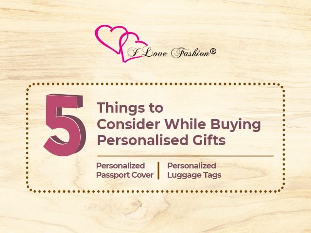 5 Things to Consider While Buying Personalized Gifts