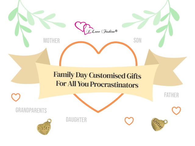 Family Day Customised Gifts For All You Procrastinators