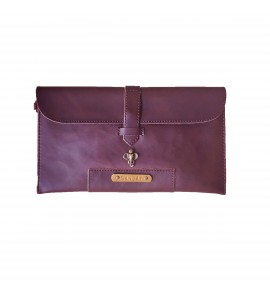 Buy Dark Brown Men Clutch Bag Online at ILoveFashion