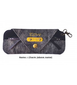 Buy Denim Black Eyewear Case Online at ILoveFashion