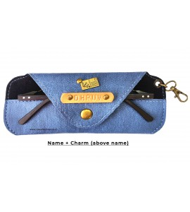 Buy Denim Blue Eyewear Case Online at ILoveFashion