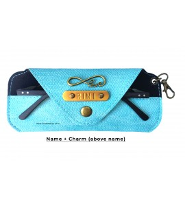 Buy Denim Cyan Eyewear Case Online at ILoveFashion