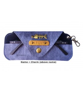 Buy Denim Indigo Eyewear Case Online at ILoveFashion