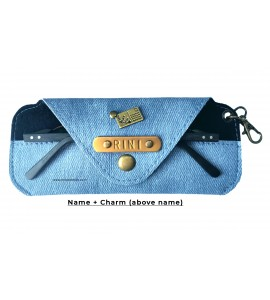 Buy Denim Light Blue Eyewear Case Online at ILoveFashion
