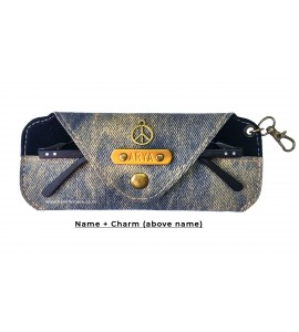 Buy Denim Rusty Blue Eyewear Case Online at ILoveFashion