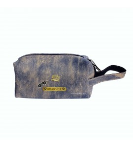 Buy Denim Rusty Blue Multipurpose Pouch Online at ILoveFashion