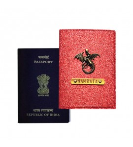 Buy Glitter Red Passport Cover (Vintage) Online at ILoveFashion