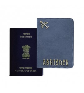 Buy Grey Passport Cover (Vintage) Online at ILoveFashion