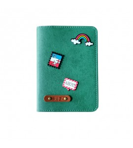 Buy Jade Green Passport cover (Peppy) Online at ILoveFashion