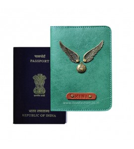 Buy Jade Green Passport Cover (Vintage) Online at ILoveFashion