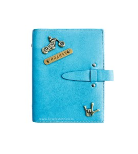 Buy Light Blue Personalised Diary Online at ILoveFashion