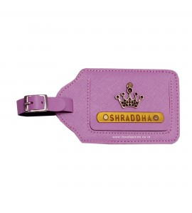 Buy Lilac Luggage Tag Online at ILoveFashion