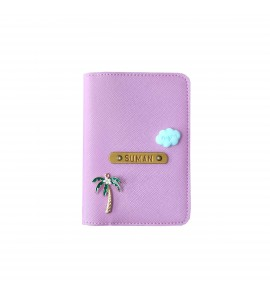 Buy Saffiano Lilac Passport cover (Peppy) Online at ILoveFashion
