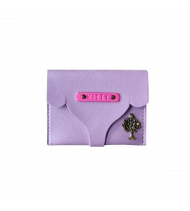 Buy Loop Design Lilac Women Small Wallet Online at ILoveFashion