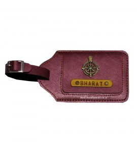 Buy Burgundy Luggage Tag Online at ILoveFashion