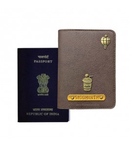 Buy Oak Grey Passport Cover (Vintage) Online at ILoveFashion