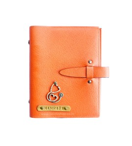 Buy Orange Personalised Diary Online at ILoveFashion