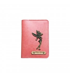 Buy Peach Pink Passport Cover (Vintage) Online at ILoveFashion