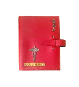 Buy Red Personalised Diary Online at ILoveFashion