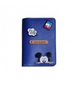 Buy Royal Blue Passport cover (Peppy) Online at ILoveFashion