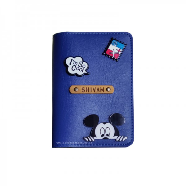 Royal Blue Passport cover (Peppy)