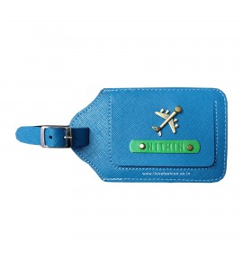 Buy Teal Blue Luggage Tag Online at ILoveFashion